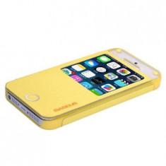 Husa Bohem Case pentru iPhone 5s, 5|Galben| Baseus - Husa Telefon Baseus, iPhone 5/5S/SE