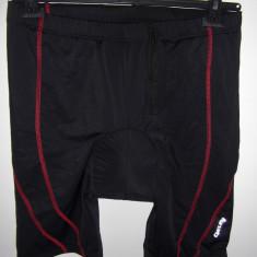 Pantaloni ciclism barbati, bazon CoolMax Crivit L=52/54 NOI