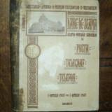 Dare de seama asupra mersului serviciilor de posta, telegraf, telefon, Bucuresti 1907