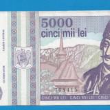 5000 lei 1993 aUNC 4