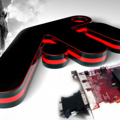 Placa Video AMD Radeon HD 6450 1 GB DDR3 Garantie 6 Luni - Placa video PC AMD, PCI Express, Ati