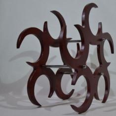 Suport sticle vin - semiluna