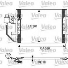 Condensator, climatizare MERCEDES-BENZ VANEO 1.7 CDI - VALEO 817504 - Radiator aer conditionat