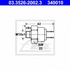Comutator, lampa frana - ATE 03.3526-2002.3 - Intrerupator - Regulator Auto