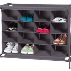 Pantofar textil negru 16 perechi de pantofi nou, original, Home Ideas - Pantofar hol