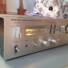 Amplificator Stereo HITACHI HA 330 - Vintage/260w/Japan/Rar - Ptr. Cunoscatori ! - Amplificator audio Hitachi, peste 200W