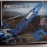 Lego Technic Original 42042 Crawler Crane Macara pe şenile Nou Sigilat PF inclus, 6-10 ani