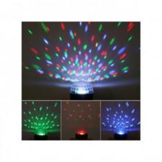 Glob disco cu lumini multicolore - Laser lumini club