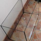 Vand acvariu din sticla.