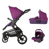 Sistem modular Coccolle Girasole 3in 1 violet - Carucior copii 3 in 1