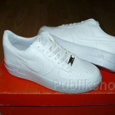 Adidasi Nike Air Force alb - Adidasi barbati Nike, Marime: 36, 37, 38, 39, 40, 41, 42, 43, 44, Culoare: Din imagine, Textil