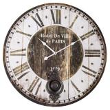 CEAS HOTEL DE VILLE DIAM. 58CM - Ceas de perete