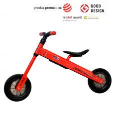 Bicicleta pliabila DhsBaby B-Bike rosu - Tricicleta copii DHS Baby, Unisex
