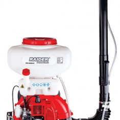 110108-Motopompa pentru stropit cu lichid sau praf 20 L motor pe benzina Raider