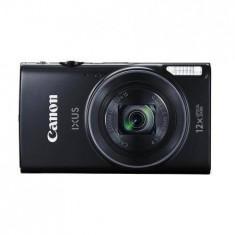 Aparat foto digital Canon IXUS 275HS, ecran 3 inch, 20.2MP, zoom 12x, negru