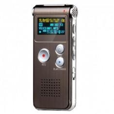 Mini Reportofon cu Activare Vocala, MP3 player, 8 GB