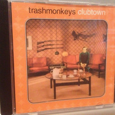 TRASHMONKEYS - CLUBTOWN (2001/ACID JAZZ/UK) - CD/ORIGINAL - Muzica Jazz Altele
