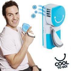 Cool to Go! Dispozitiv Portabil pentru Reîmprospătarea Aerului - Ventilator