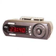 Radio cu ceas Elta Germany, cu alarma, integrabil in mobila de bucatarie - Ceas cu proiectie