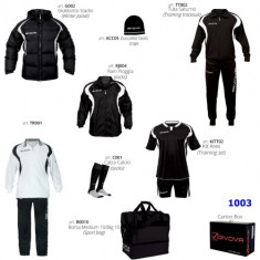 Sport si atitudine cu GIVOVA - Set echipament fotbal Givova, S/M