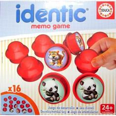 Joc Identic Animale - Jocuri Logica si inteligenta Educa