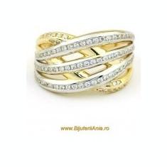 Inel aur - Bijuterii aur inel de logodna colectie noua