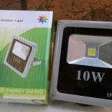 Proiector LED SMD 10W Economic Slim 6500K ( Lumina Rece) de Interior si Exterior
