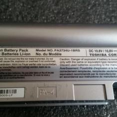 BATERIE TOSHIBA NB200 10, 8V 6300mAh 3% UZURA 97% VIATA AUTONOMIE PESTE 3 ORE - Baterie laptop Toshiba, 4 celule, 6000 mAh