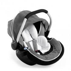 Scaun Auto Select Black Silver - Scaun auto bebelusi grupa 0+ (0-13 kg) Hauck