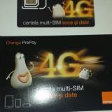 Cartela Orange PrePay multi-Sim 4G
