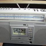 JVC Radiocasetofon AM FM SW LW f.puternic radio si casul totul functioneaza, 0-40 W