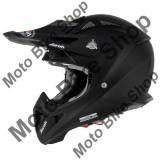 MBS Casca motocross Airoh Aviator, carbon, negru mat, L=59-60, Cod Produs: AV11L