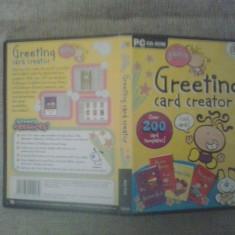 Greeting Card Creator - PC Soft - Program carti de vizita haioase