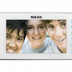 Post interior video interfon, alb, siquot;7siquot;