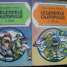 Carte mitologie - LEGENDELE OLIMPULUI ALEXANDRU MITRU VOL, 1, 2