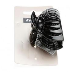 Trisa - Cleste de par 6 cm negru