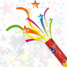 Tun confetti 30 cm pentru evenimente festive - Decoratiuni petreceri copii