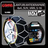 Lanturi antiderapare S-16, 4x4, SUV si VAN - 23, 5 - CRD-LAM16127 - Lanturi antiderapante