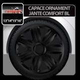 Capace ornament jante Comfort BL 4buc - Negru - 14' - CRD-VER1402BL - Capace Roti