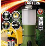 Energizer Lanterna 7638900381757, ENERGIZER Lantern, 3 in 1 + 4 baterii AA, verde