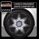Capace ornament jante Comfort GR 4buc - Grafit - 14' - CRD-VER1402GR - Capace Roti