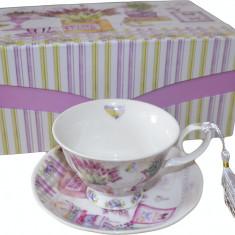 Portelan - Set cesti pentru ceai sau cafea.