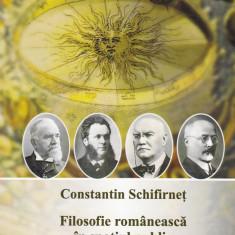 Constantin Schifirnet - Filosofie romaneasca in spatiul public - 596997