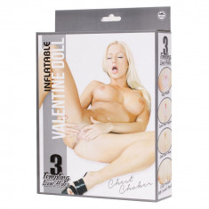Papusi gonflabile - Papusa gonflabila Valentine Chest Choker - Sex Shop Erotic24