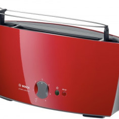 Toaster - Prajitor de paine Bosch TAT6004, 900W, Rosu