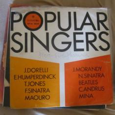 Vinil popular singers - Muzica Rock Altele