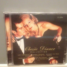 CLASSIC DINNER - COLLECTION 2CD SET(1996/SONY/GERMANY) - ORIGINAL/NOU/SIGILAT - Muzica Clasica sony music