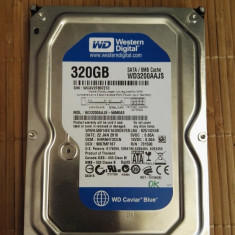 HDD PC Western Digital 320Gb WD3200AAJS Sata 2 8Mb Cache - Hard Disk Western Digital, 200-499 GB, Rotatii: 7200