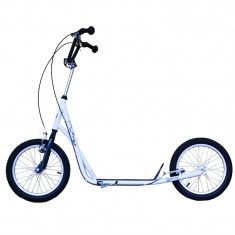 Bicicleta electrice - Trotineta Adulti, Master, Alb, Roti 16 Inch, Greutate Maxima 80 kg - OLN-ONL3-MAS-S017-WHITE