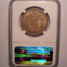 Monede Romania - 100 lei 1932 NGC MS 63 Piesa de colectie